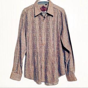 Robert Graham Dress Shirt. XL. NWOT